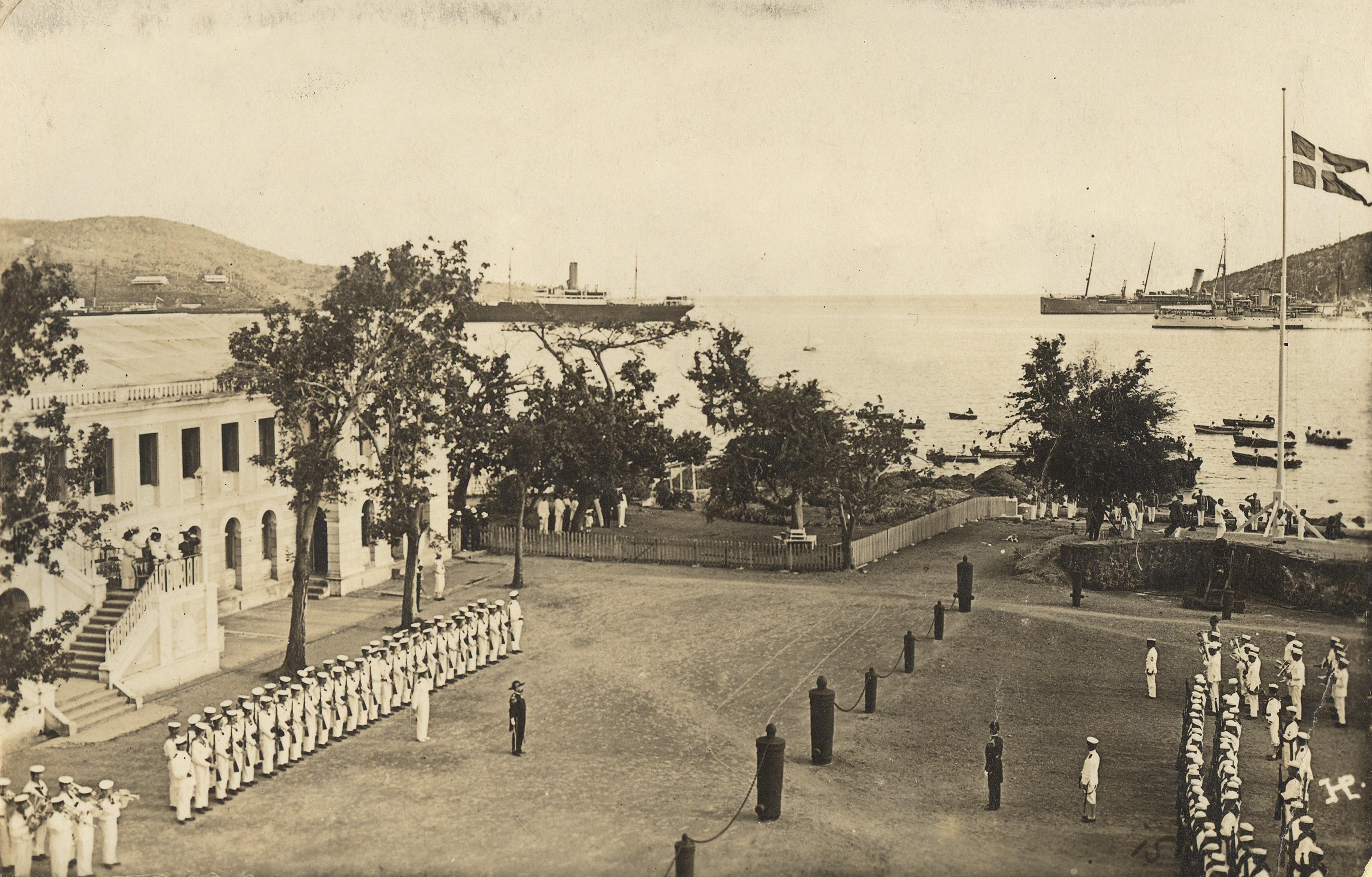 Transferday 1917. Dansk-Vestindisk Selskab.