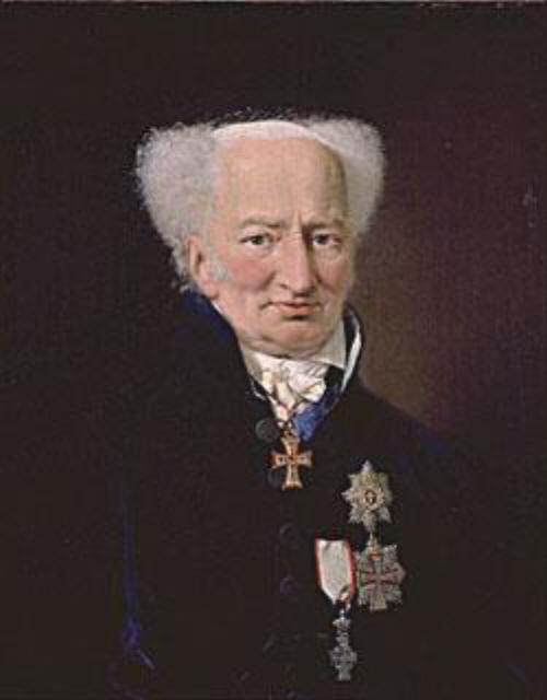 Ernst Schimmelmann finansminister og senere statsminister i Danmark. Wikimedia.