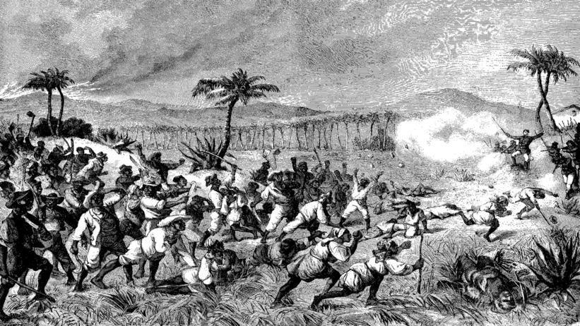 'Fireburn' – avisillustration fra dagene efter oprøret på St. Croix.