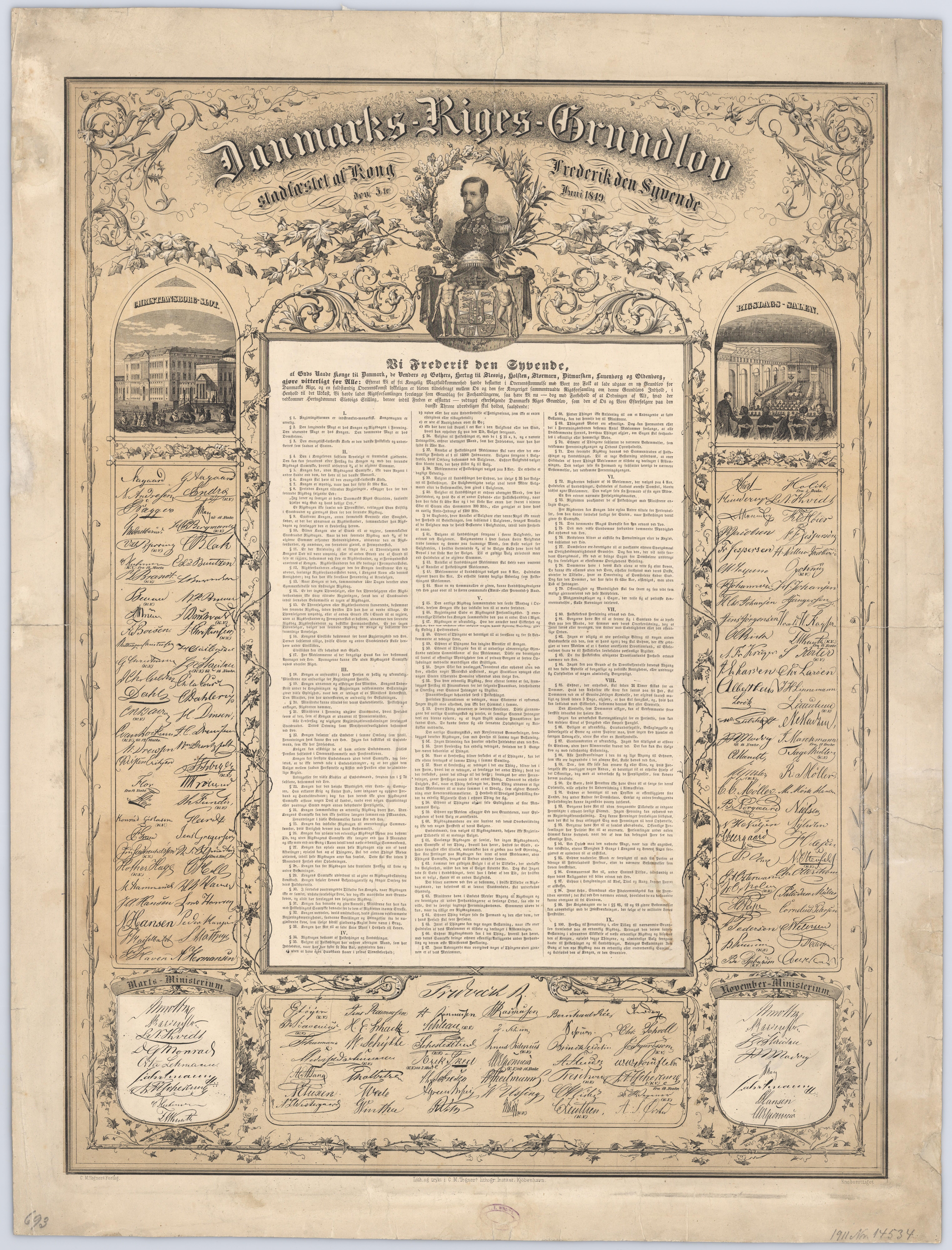 Danmarks Grundlov af 1849