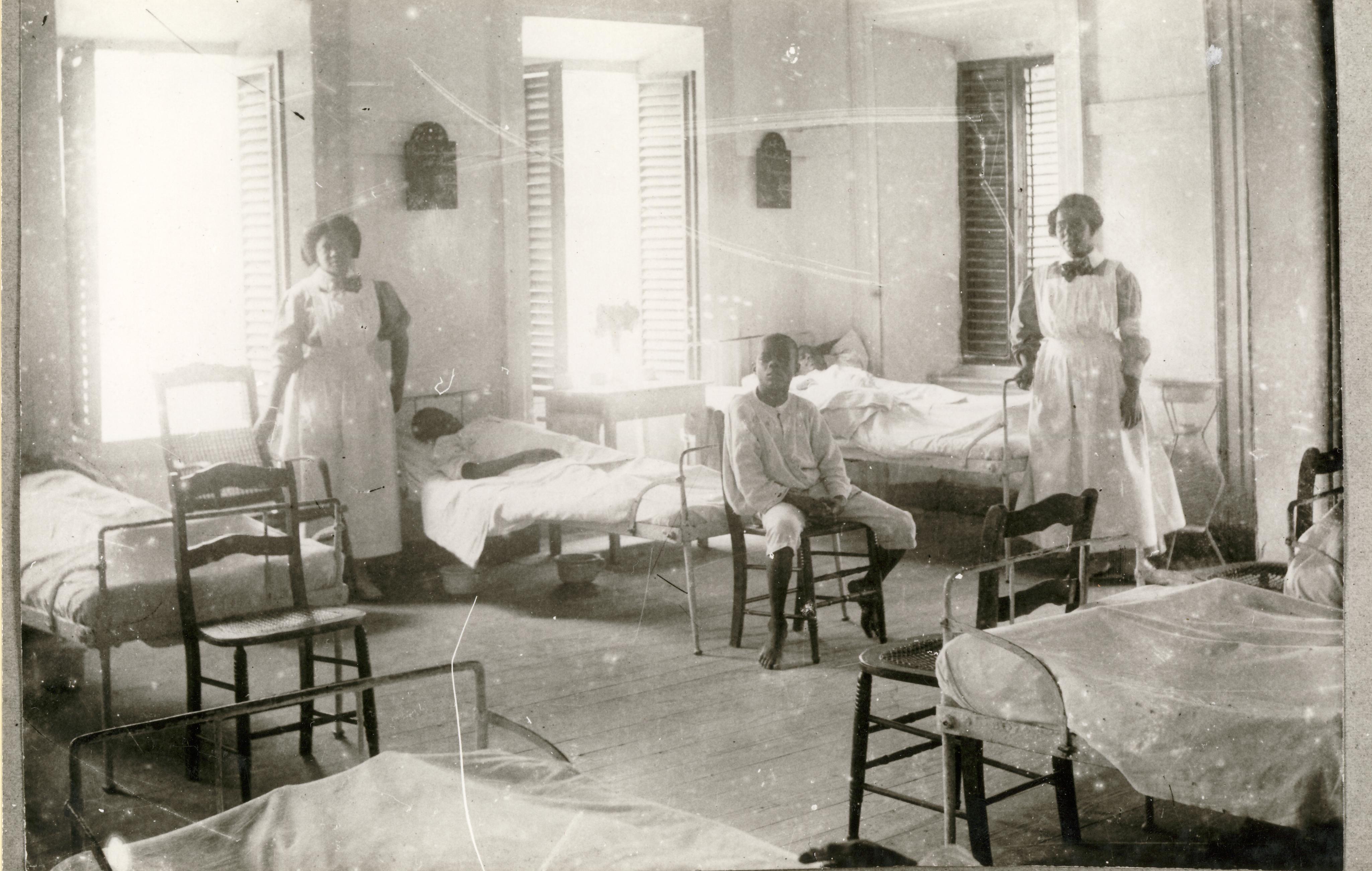Hospital Christiansted, St. Croix. Dansk Vestindisk Selskab